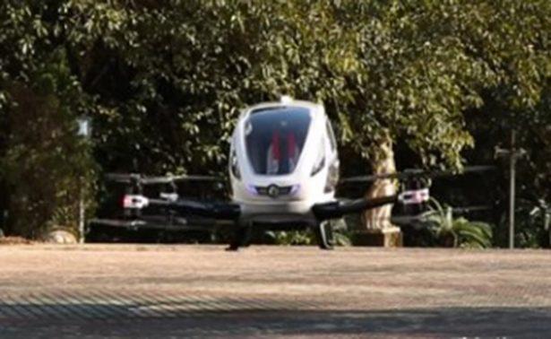En Dubai ya habrá drones-taxi