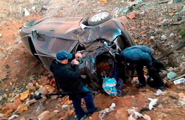 Descubren cargamento de droga tras volcadura en Zacatecas
