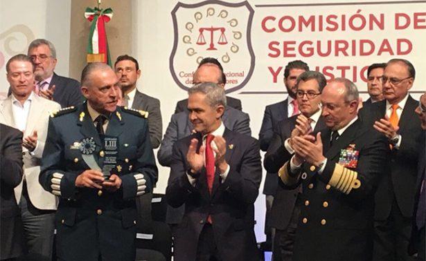La Conago reconoce labor de las Fuerzas Armadas de México