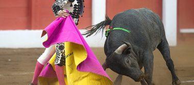 El torero José Garrido, superior en la plaza de toros