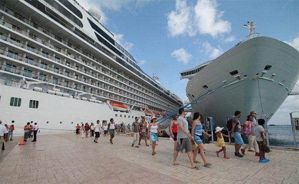 Cruceros impulsan en 48% el arribo de turistas a las playas mexicanas