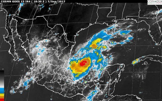 Katia podría tocar tierra como huracán categoría 2, prevé Conagua