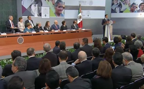 Destaca Peña Nieto el trabajo y creatividad de Premios Nacionales