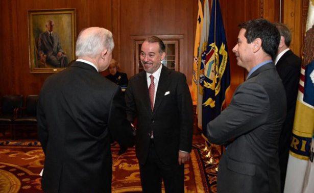 Titular de la PGR y fiscal general de EU se reúnen en Washington