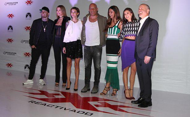 """Vin Diesel llega a la CDMX para premier de """"xXx Reactivado"""""""