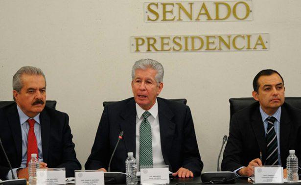 No renuncio, no dejaré el barco a media agua: Ruiz Esparza