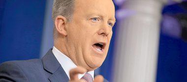 Sean Spicer habla de su dimisión: Fue un honor y privilegio servir a Trump