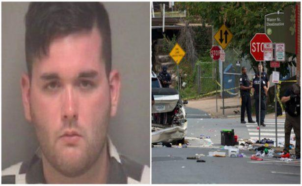 Detienen a conductor que atropelló a manifestantes en Virginia