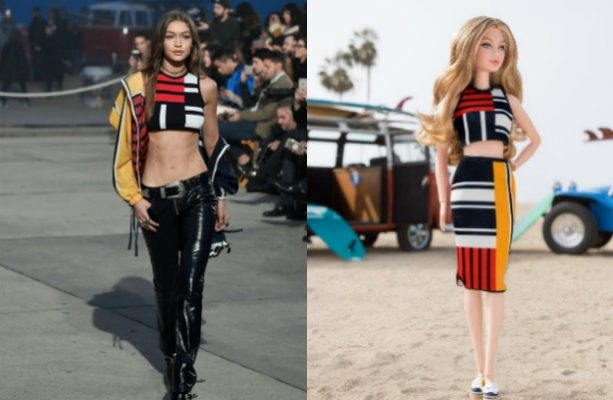 ¡Gigi Hadid se convierte en la nueva muñeca de Barbie!