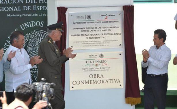 México ve futuro con optimismo gracias a Fuerzas Armadas: Peña Nieto