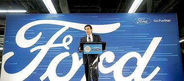 Ford iniciará en noviembre operación de planta de motores en Chihuahua
