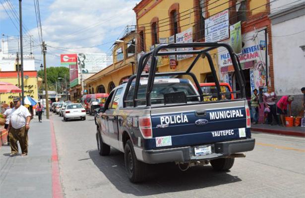 Mando Único detiene a policías en Yautepec