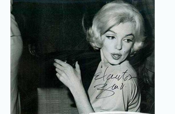Conmemoran 55 años la visita de Marilyn Monroe a México