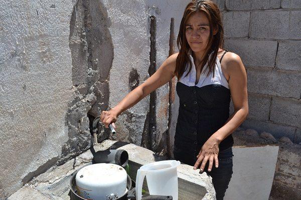 JMAS no tiene sensibilidad con los usuarios que no tenemos agua: vecina