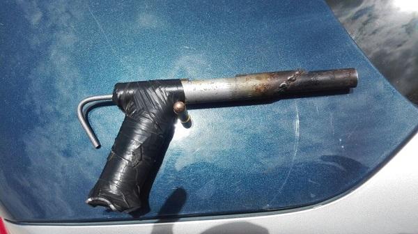 Hizo arma hechiza de calibre.38 con materiales reciclados