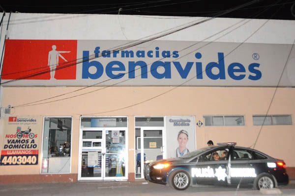 Ahora intentan robar farmacia Benavides de la colonia Los Pinos