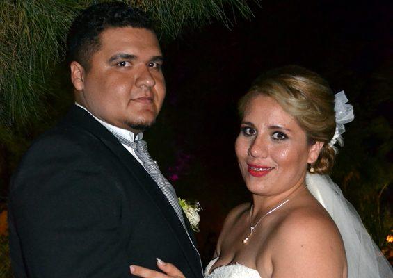 Unen sus vidas Erika y Luis Carlos