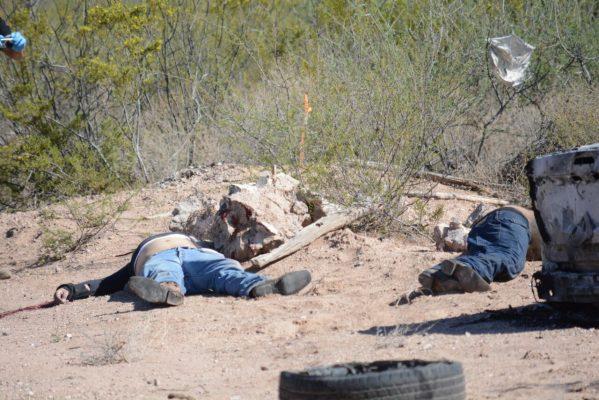 Localizan dos sujetos sin vida tiradas en brecha de San Diego Alcalá