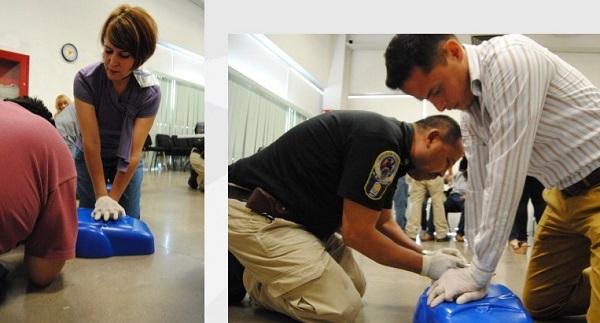 Concluye curso de primeros auxilios para personal de la DSPM