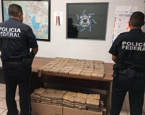 Detienen a dos parralenses con 43 kg de droga en Villa Ahumada