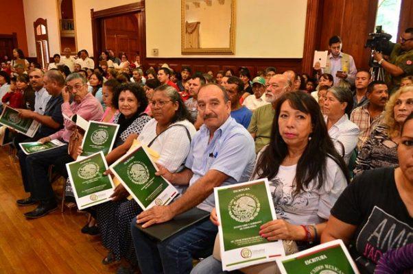 Recibieron 2 mil 308 chihuahueses titulo de propiedad de sus casas