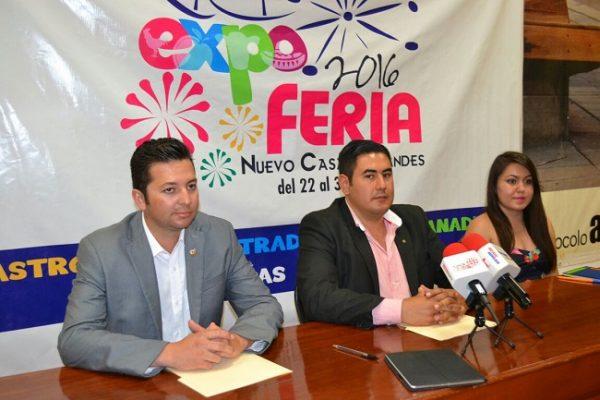 Presentan Expo Feria Nuevo Casas Grandes 2016