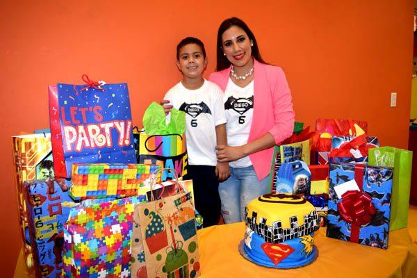 Cumpleaños De Diego Bustamante