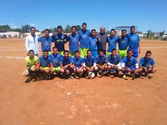 Surgen campeones en Liga de Futbol Juvenil e Infantil