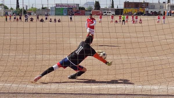 Se definen semifinales en la Liga de futbol Francisco Villa