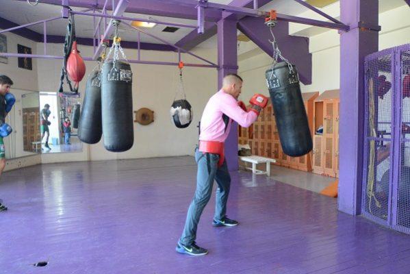 En el olvido gimnasio de box de la UACH por varios meses