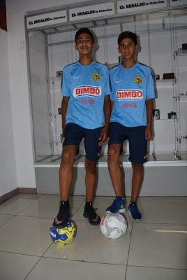 Jóvenes futbolistas viajarán a Coapa
