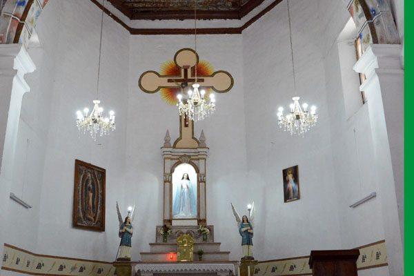 Templo de Santa María de Cuevas, joya arquitectónica