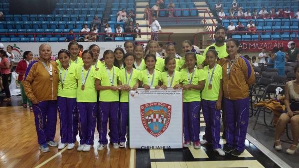 Chihuahua destaca en basquetbol y handball en Los Juegos Nacionales