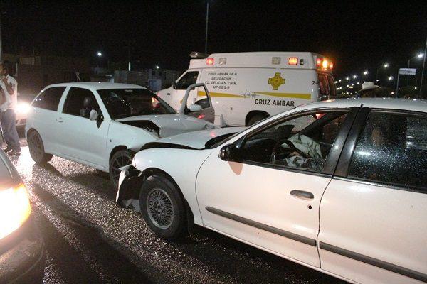 Se registran 4 choques causados por el alcohol, no hubo lesionados de consideración