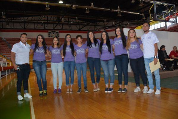 Presentan la Liga Estatal de Basquetbol Femenil