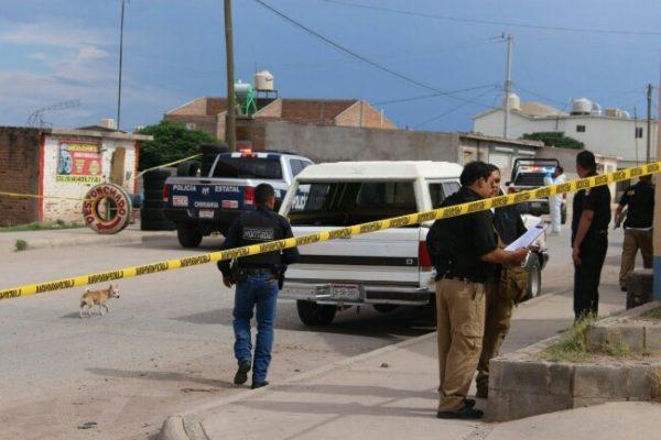 Asesinan a sujeto en desponchado en la Colonia Vista Hermosa