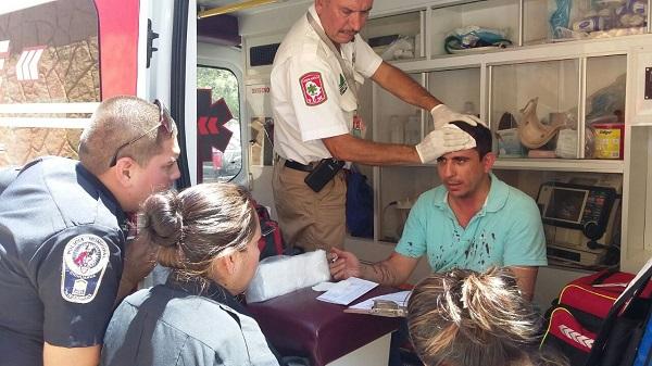 Lesionan a panista y vandalizan su vehículoen la Colonia Cerro Grande