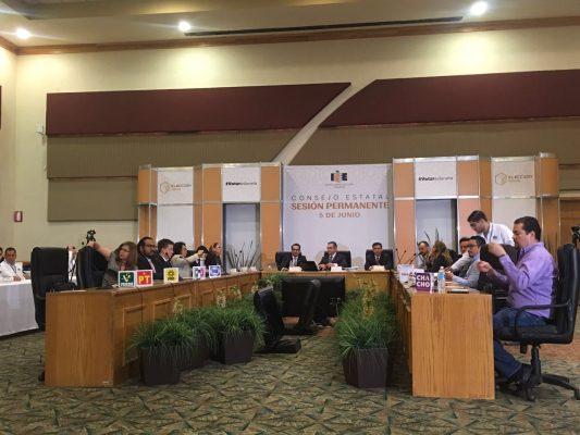 Instala Consejo del IEE sesión permanente por elecciones