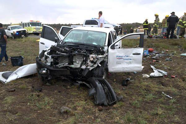 Mortal accidente en carretera a Lázaro Cardenas-La Quemada