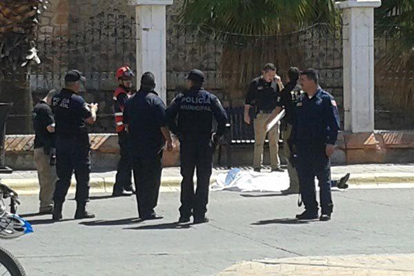 Asesinan a persona de un balazo en pleno Centro de la Ciudad