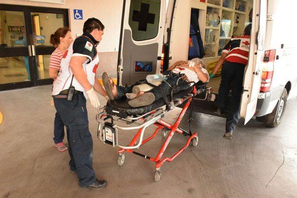 Intentan matar a hombre en la colonia Los Arroyos, lo llevan a hospital
