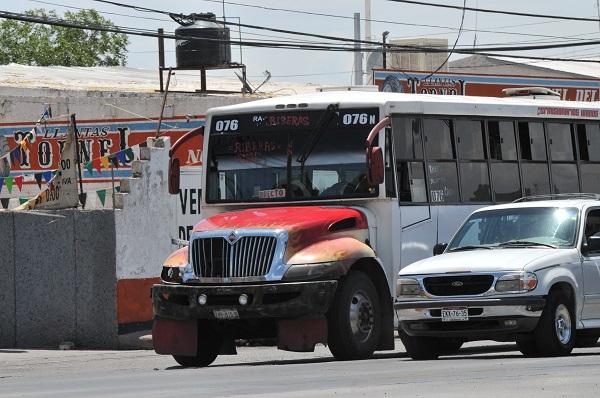 72 rutas del transporte público de Chihuahua comenzarán su modificación el día de hoy