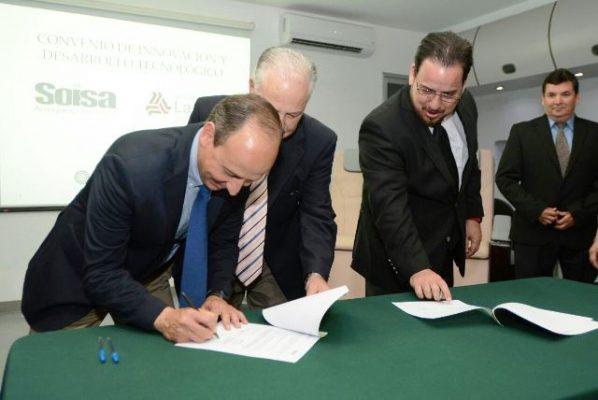 Firman convenio de colaboración la Salle y Soisa Aeroespace