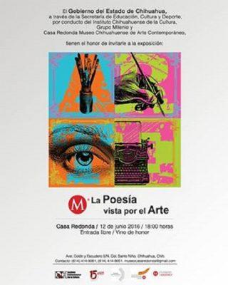 """Disfruta de """"La poesía vista por el arte"""""""