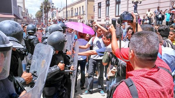 Conozca como se dieron las cosas en la manifestación de Unión Ciudadana