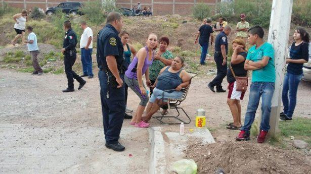 Flamazo en vivienda genera movilización policíaca