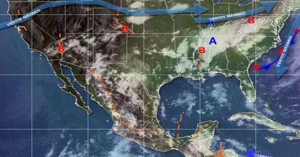 Continuará pronóstico de lluvias de hasta 75mm para mañana: SMN