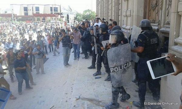 Hoy se presentarán a audiencia 22 de los 103 detenidos por disturbios en Palacio