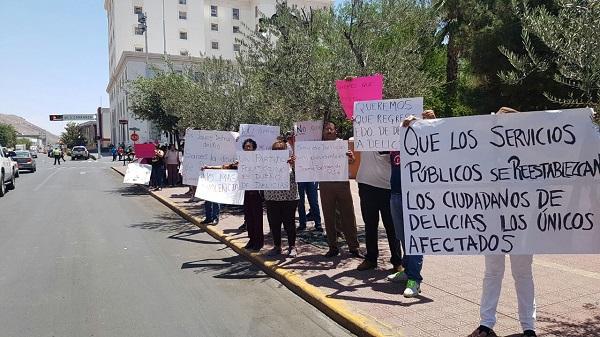 Piden restablecer el estado de derecho en Delicias