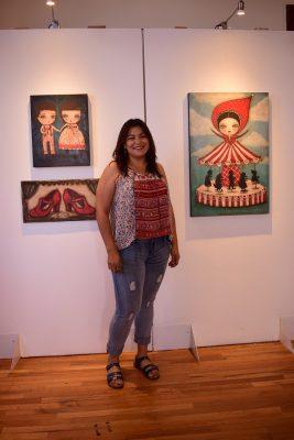 """Expone Danita Art en la Quinta """"Entre lobos y princesas"""""""